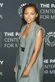 Logan Browning at An Evening with Dear White People at Paley Center 2018/06/05 9
