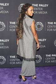 Logan Browning at An Evening with Dear White People at Paley Center 2018/06/05 10