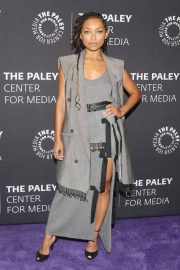 Logan Browning at An Evening with Dear White People at Paley Center 2018/06/05 11