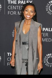 Logan Browning at An Evening with Dear White People at Paley Center 2018/06/05 14