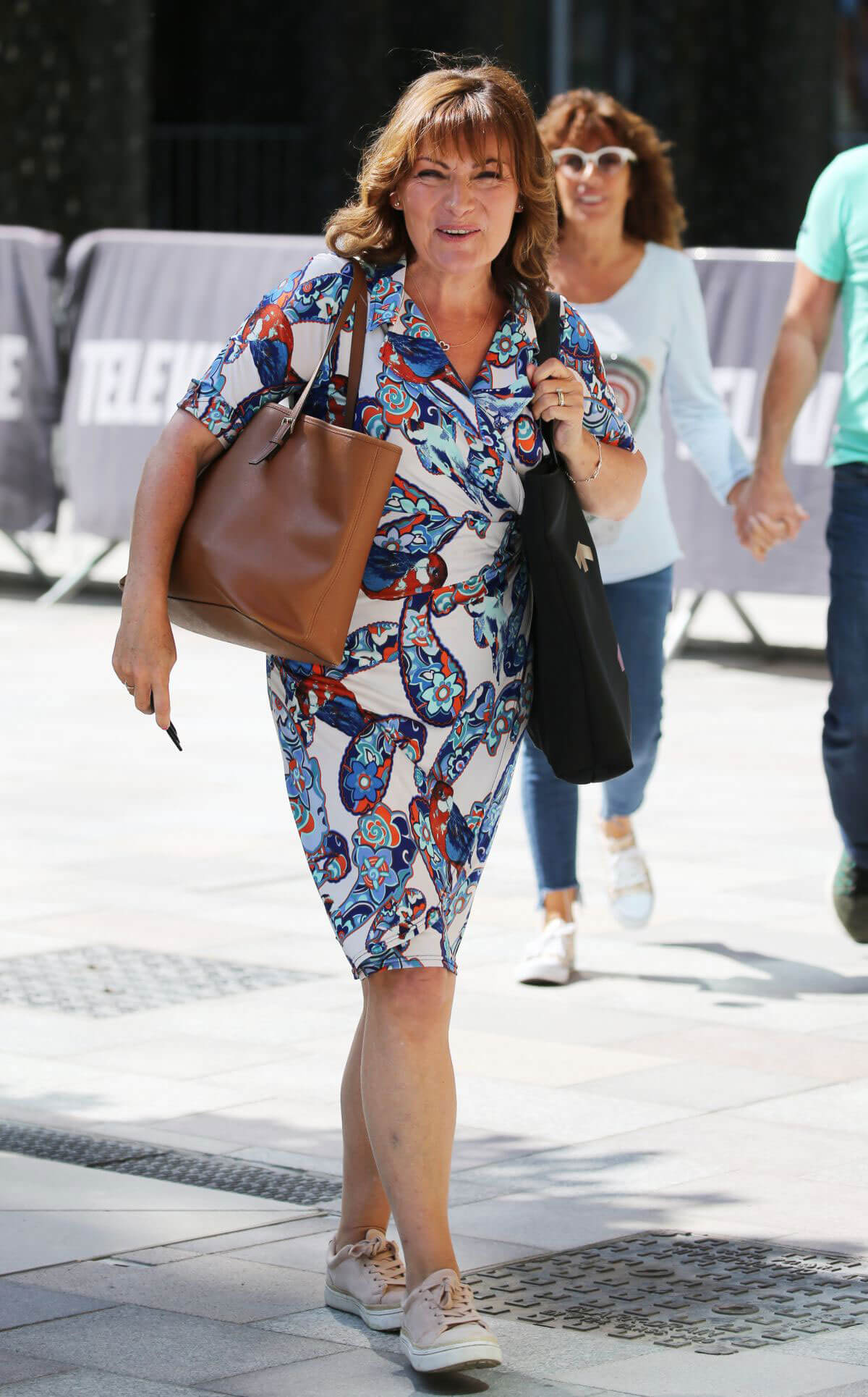 Lorraine Kelly at ITV Studios in London 2018/06/13 1