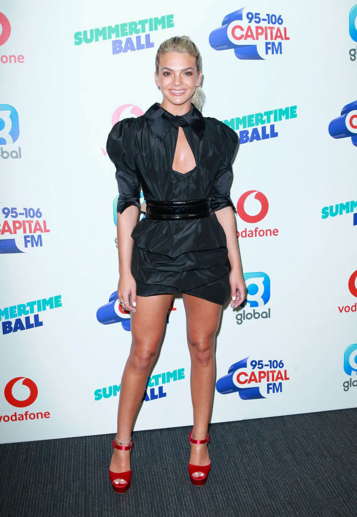 Louisa Johnson at Capital Radio Summertime Ball 2018 in London 2018/06/09 14