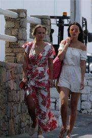 Lucy and Lucy Watson Out in Mykonos 2018/06/21 3