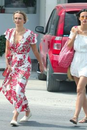 Lucy and Lucy Watson Out in Mykonos 2018/06/21 15