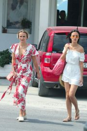 Lucy and Lucy Watson Out in Mykonos 2018/06/21 16