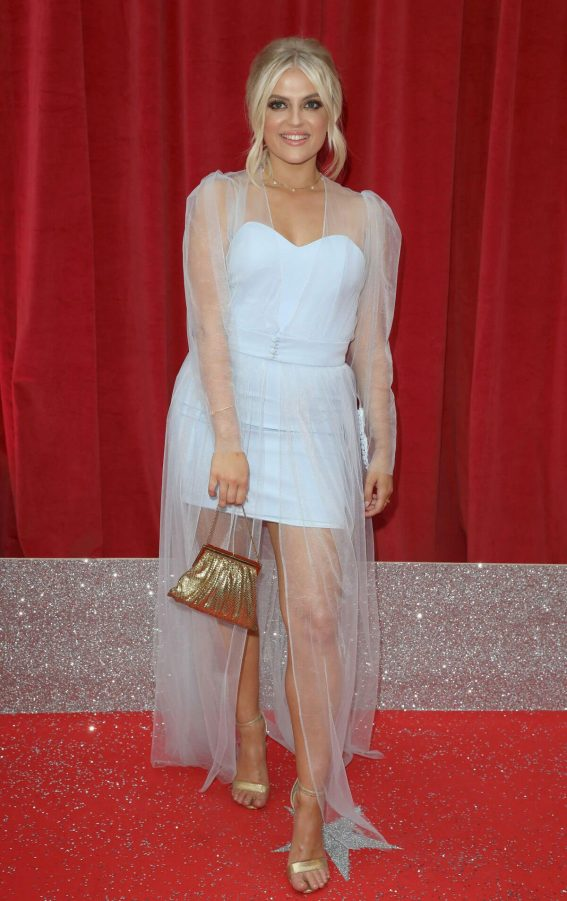 Lucy Fallon at British Soap Awards 2018 in London 2018/06/02 1