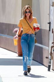 Lucy Hale in Jeans Out in Studio City 2018/06/12 2
