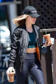 Lucy Hale Out for Coffee in Los Angeles 2018/06/09 8