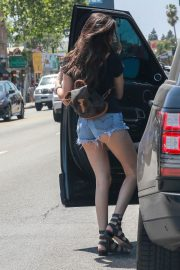 MADISON BEER in Denim Shorts Out in Los Angeles 2018/06/01 9