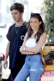 Madison Beer Out for Lunch at Il Pastaio in Beverly Hills 2018/06/02 1