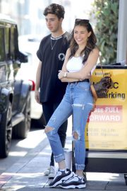 Madison Beer Out for Lunch at Il Pastaio in Beverly Hills 2018/06/02 14