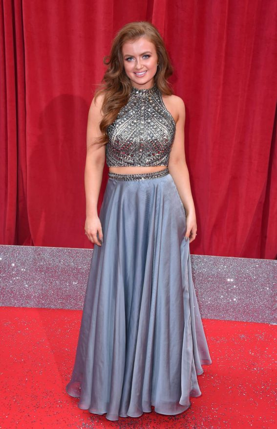 Maisie Smith at British Soap Awards 2018 in London 2018/06/02 1