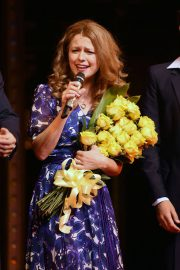 Melissa Benoist at Beautiful: The Carole King Musical Opening Night in New York 2018/06/11 7