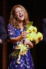 Melissa Benoist at Beautiful: The Carole King Musical Opening Night in New York 2018/06/11 8