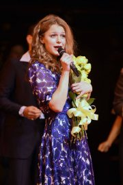 Melissa Benoist at Beautiful: The Carole King Musical Opening Night in New York 2018/06/11 14