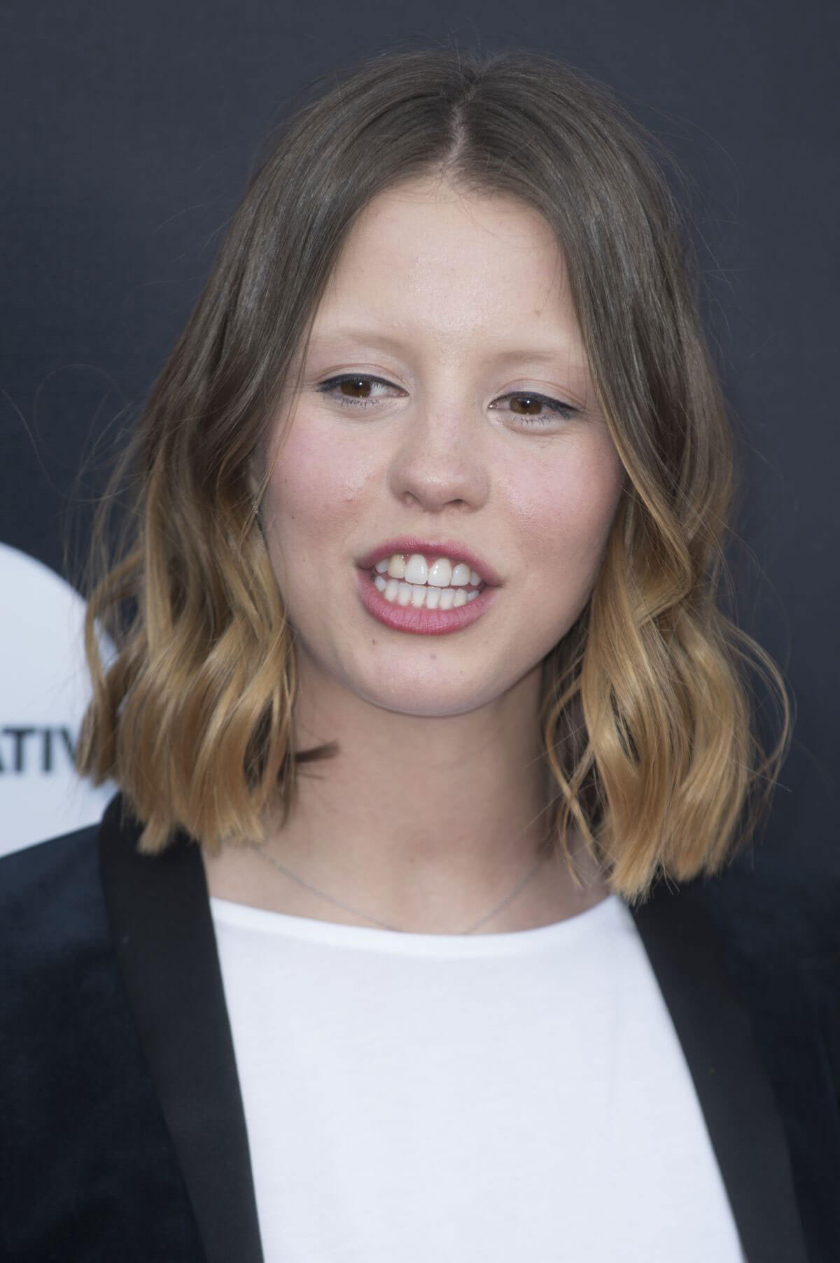 Mia Goth at The Secret of Marrowbone Premiere at 2018 Edinburgh International Film Festival 2018/06/21 1