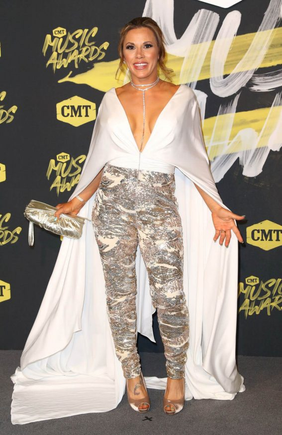 Mickie James at CMT Music Awards 2018 in Nashville 2018/06/06 4