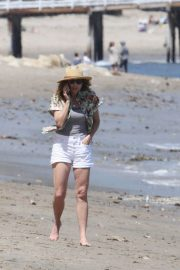 Minnie Driver Out on the Beach in Los Angeles 2018/05/30 5
