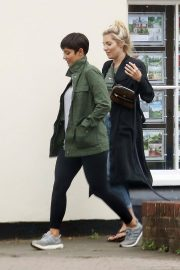 Mollie King and Frankie Bridge Out in Cobham 2018/06/12 1
