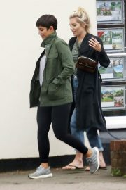 Mollie King and Frankie Bridge Out in Cobham 2018/06/12 10