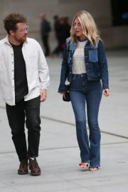 Mollie King in Double Denim Out in London 2018/06/07 2