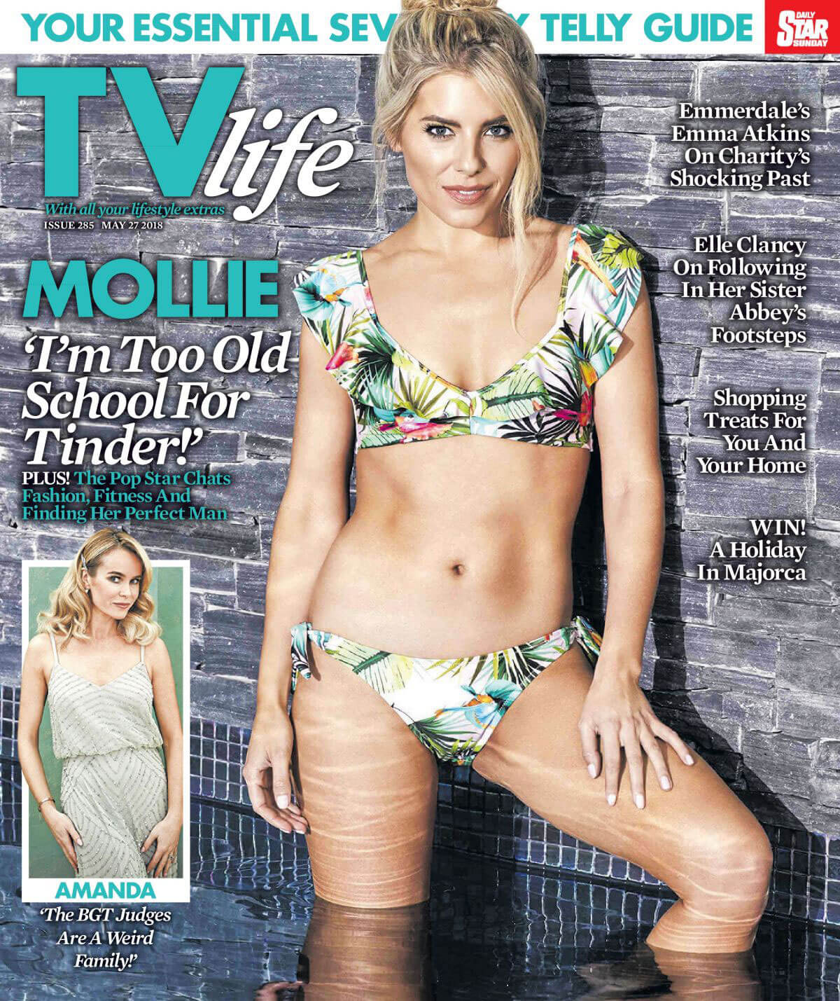 Mollie King in TV Life Magazine, May 2018 Issue 3