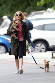 Naomi Watts Out with Her Dogs in New York 2018/05/30 2