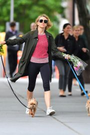 Naomi Watts Out with Her Dogs in New York 2018/05/30 13