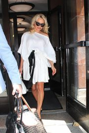 PAMELA ANDERSON Leaves Megyn Kelly Today Show in New York 2018/06/06 8