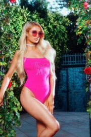 Paris Hilton for Boohoo on 2000's Inspired Collection, June 2018 4