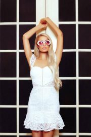 Paris Hilton for Boohoo on 2000's Inspired Collection, June 2018 10