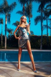 Paris Hilton for Boohoo on 2000's Inspired Collection, June 2018 11