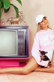 Paris Hilton for Boohoo on 2000's Inspired Collection, June 2018 13
