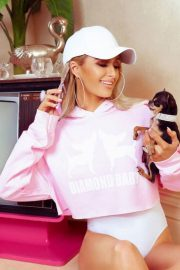 Paris Hilton for Boohoo on 2000's Inspired Collection, June 2018 14