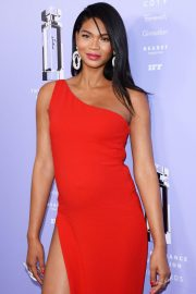 Pregnant Chanel Iman at 2018 Fragrance Foundation Awards in New York 2018/06/12 1