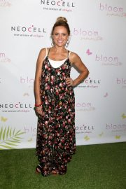 Pregnant Christine Lakin at Bloom Summit in Los Angeles 2018/06/02 8