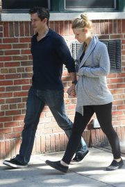 Pregnant Claire Danes and Hugh Dancy Out in New York 2018/06/12 2