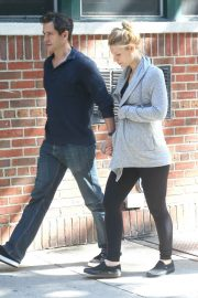 Pregnant Claire Danes and Hugh Dancy Out in New York 2018/06/12 6