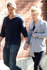 Pregnant Claire Danes and Hugh Dancy Out in New York 2018/06/12 15