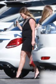 Pregnant Hilary Duff  Arrives at Late Late Show with James Corden in West Hollywood 2018/06/11 5