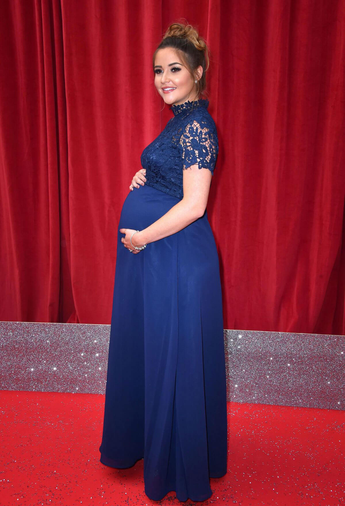 Pregnant Jacqueline Jossa at British Soap Awards 2018 in London 2018/06/02 2