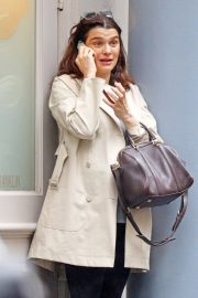 Pregnant Rachel Weisz Out in New York 2018/06/04 11