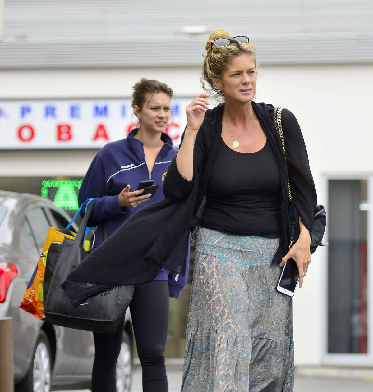 Rachel Hunter and Renee Hunter Out for Lunch in Los Angeles 2018/05/30 8