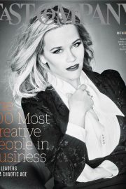 Reese Witherspoon in Fast Company, June 2018 Issue 2