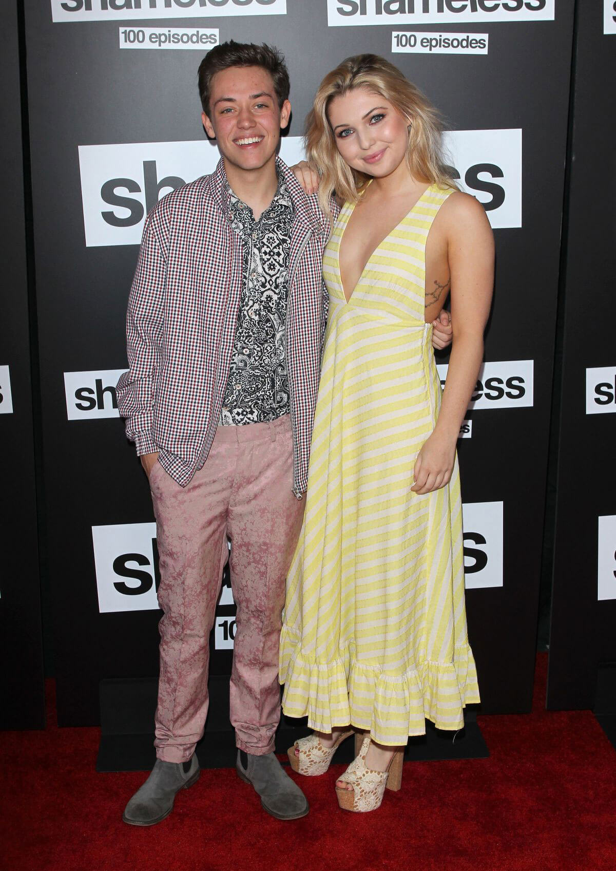 Sammi Hanratty at the Shameless 100th Episode Celebration in Los Angeles 2018/06/09 6
