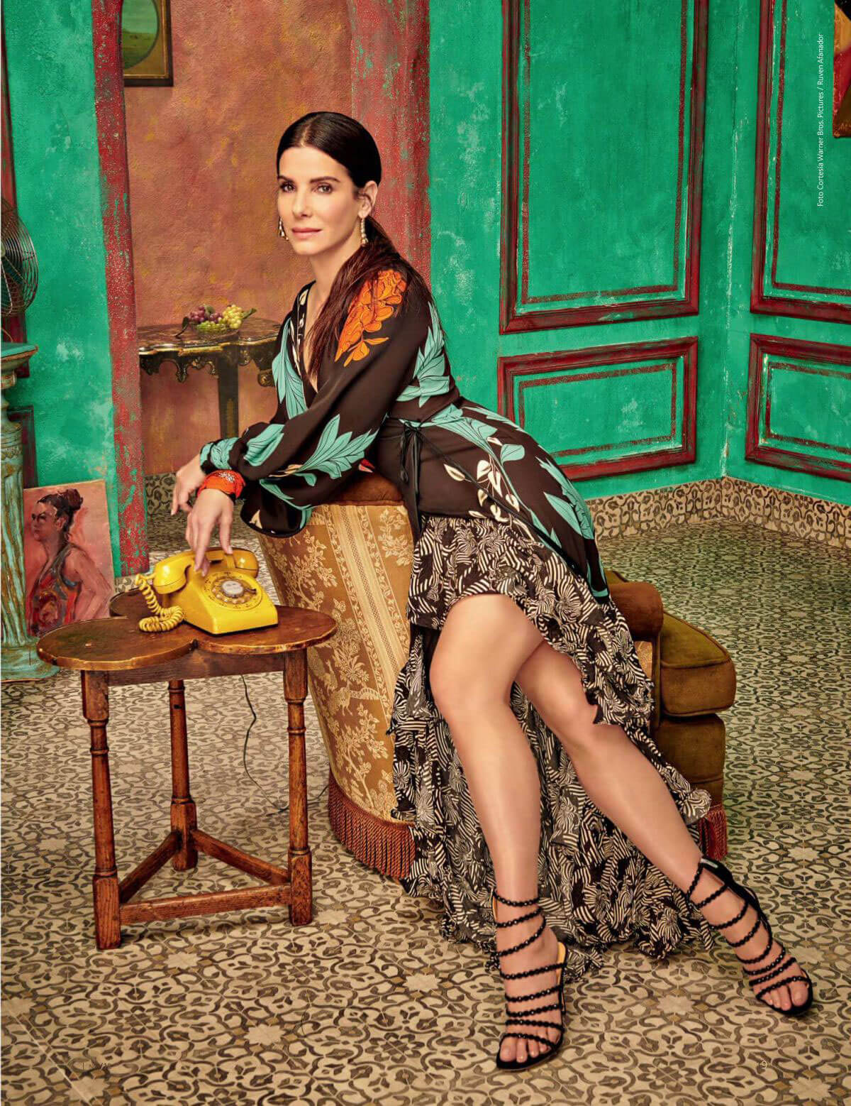 Sandra Bullock in Caras Magazine, Colombia June 2018 Issue 1