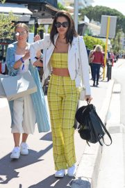Sara Sampaio Stills Out and About in Cannes 2018/05/15 1