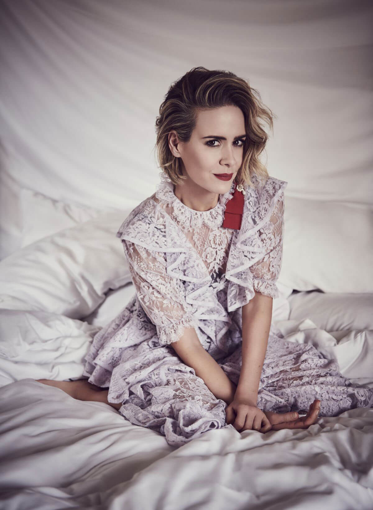 Sarah Paulson Poses for Bustle June 2018 Issue 3