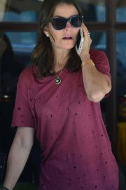 Sela Ward at Il Pastaio Restaurant in Beverly Hills 2018/06/11 8