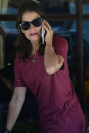 Sela Ward at Il Pastaio Restaurant in Beverly Hills 2018/06/11 9